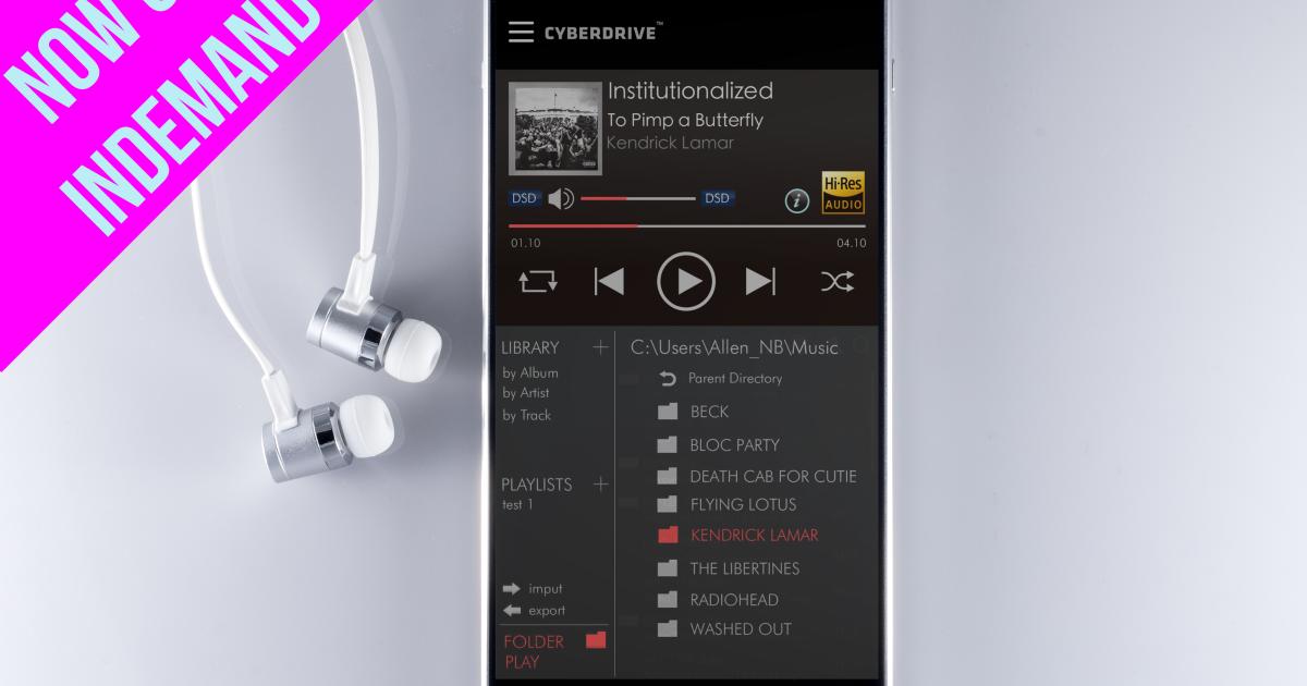 Seiun Players: Hi-Res Audio meets 4K Video | Indiegogo