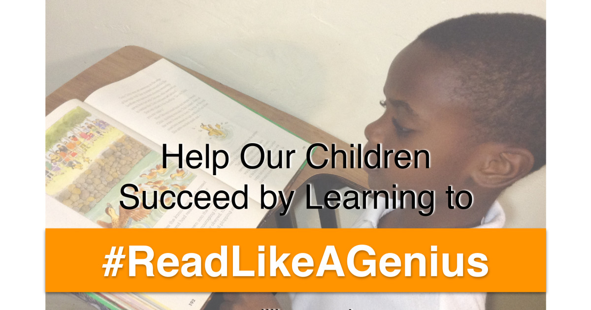 Help Our Children Learn to Read Like a Genius