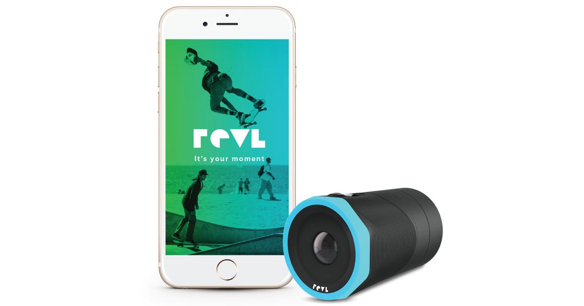 Revl Arc - The World's Smartest Action Camera