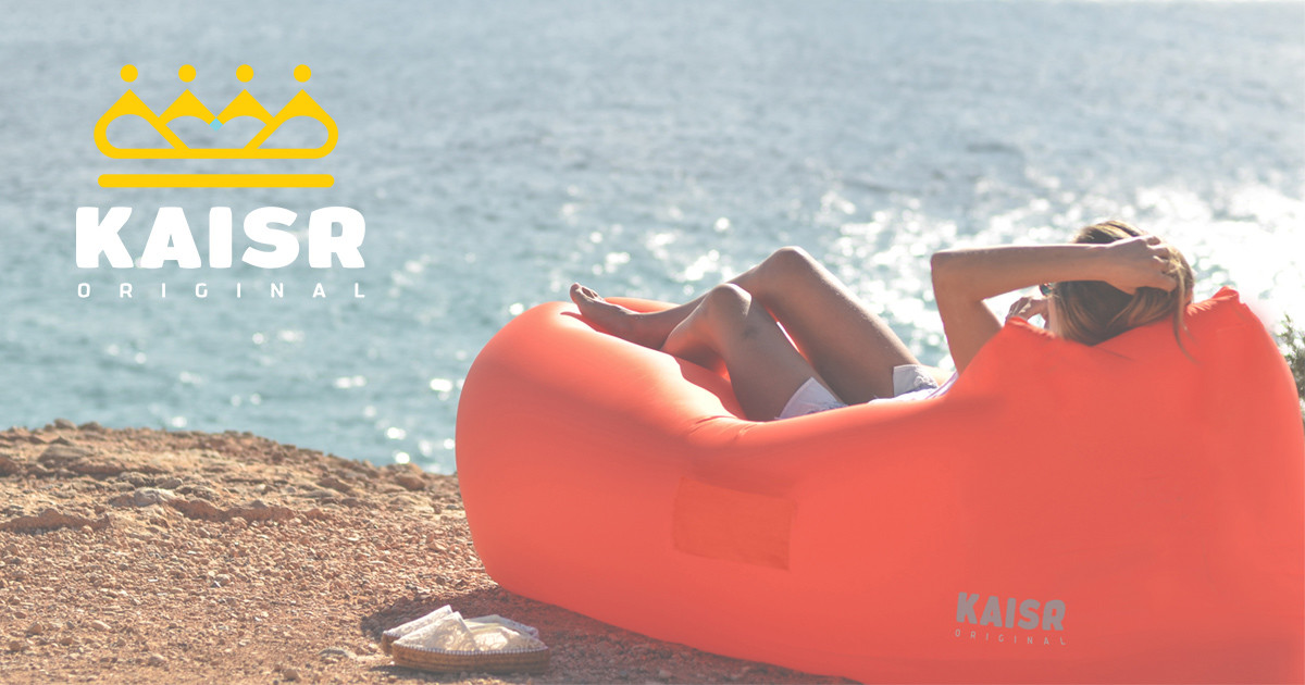 Kaisr Original The Ultimate Inflatable Air Lounge Indiegogo