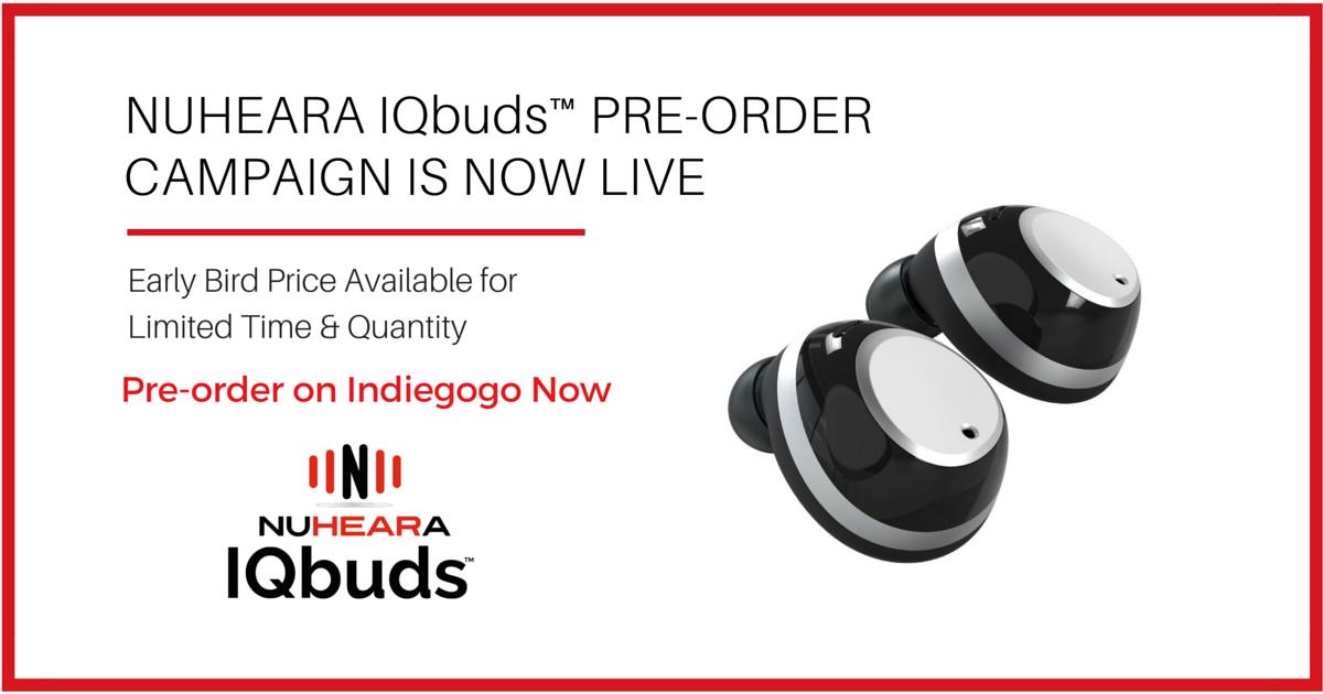 Nuheara IQbuds: Super Intelligent Wireless Earbuds   Indiegogo