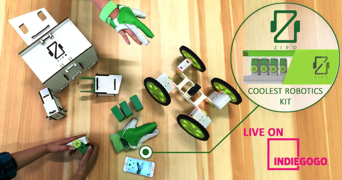 Ziro: World's First Hand-controlled Robotics Kit