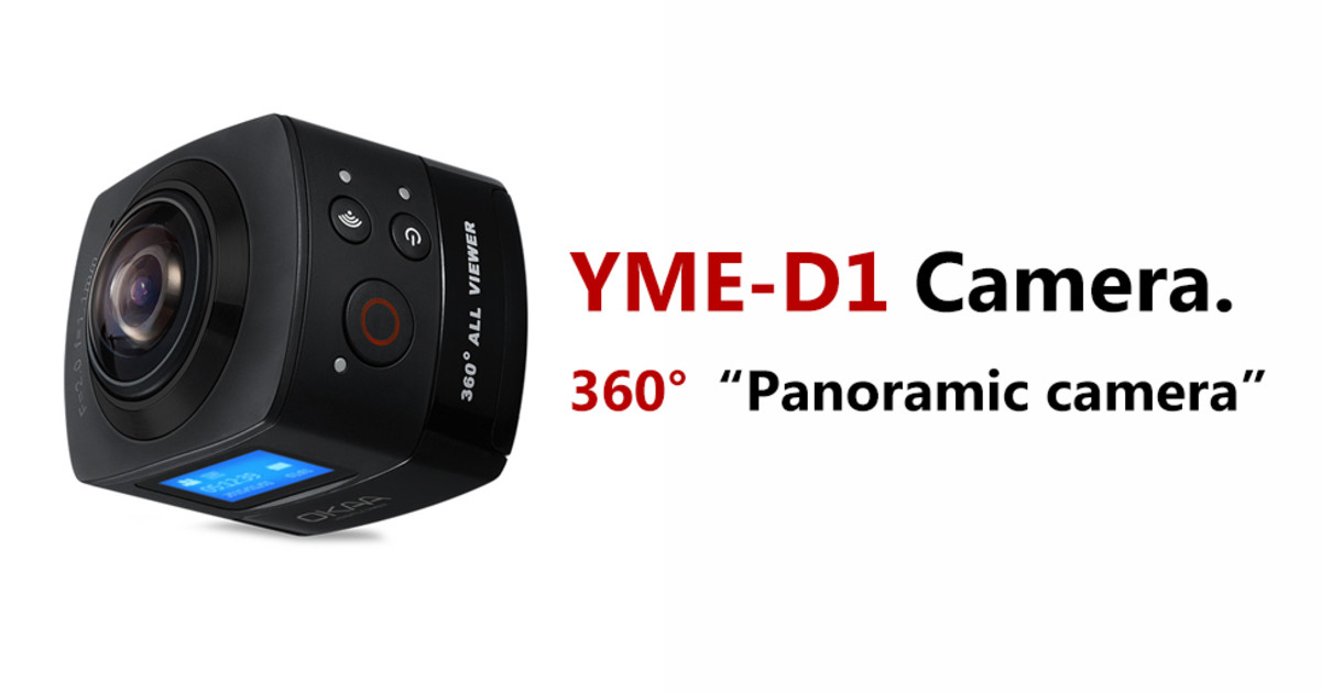 YME - D1  Panoramic camera  | Indiegogo