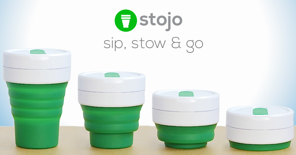 ca5773d9811 Stojo Biggie: Collapsible Leak-Proof Coffee Cup | Indiegogo