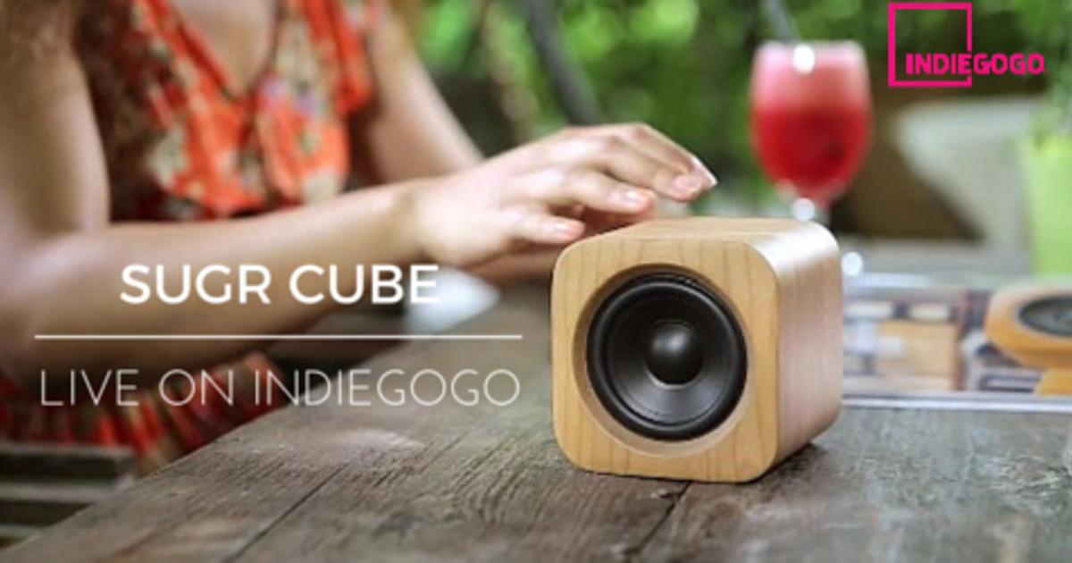 Sugr Cube Minimalist Spotify Connect Smart Speaker Indiegogo