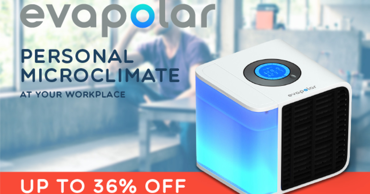 World's first personal air conditioner | Indiegogo