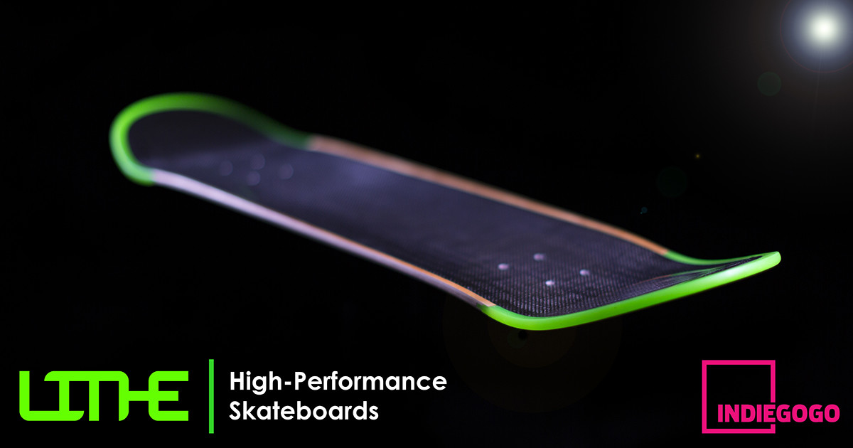 LITHE - High-Performance Skateboards | Indiegogo