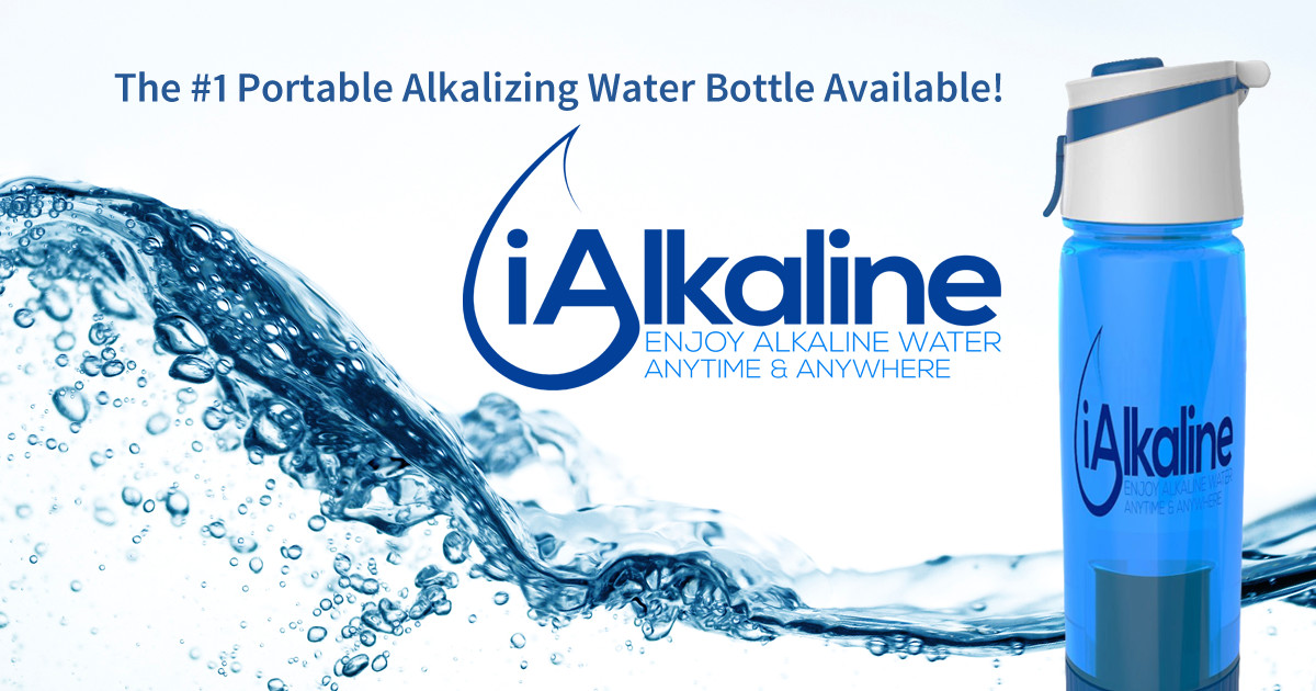 Portable Alkaline Water Bottles Indiegogo - Alkaline water bottle