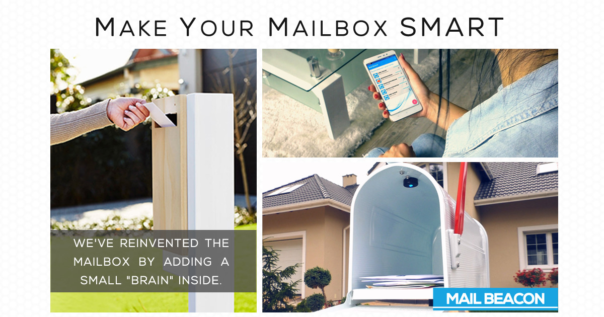 Mail Beacon - Make your mailbox SMART | Indiegogo