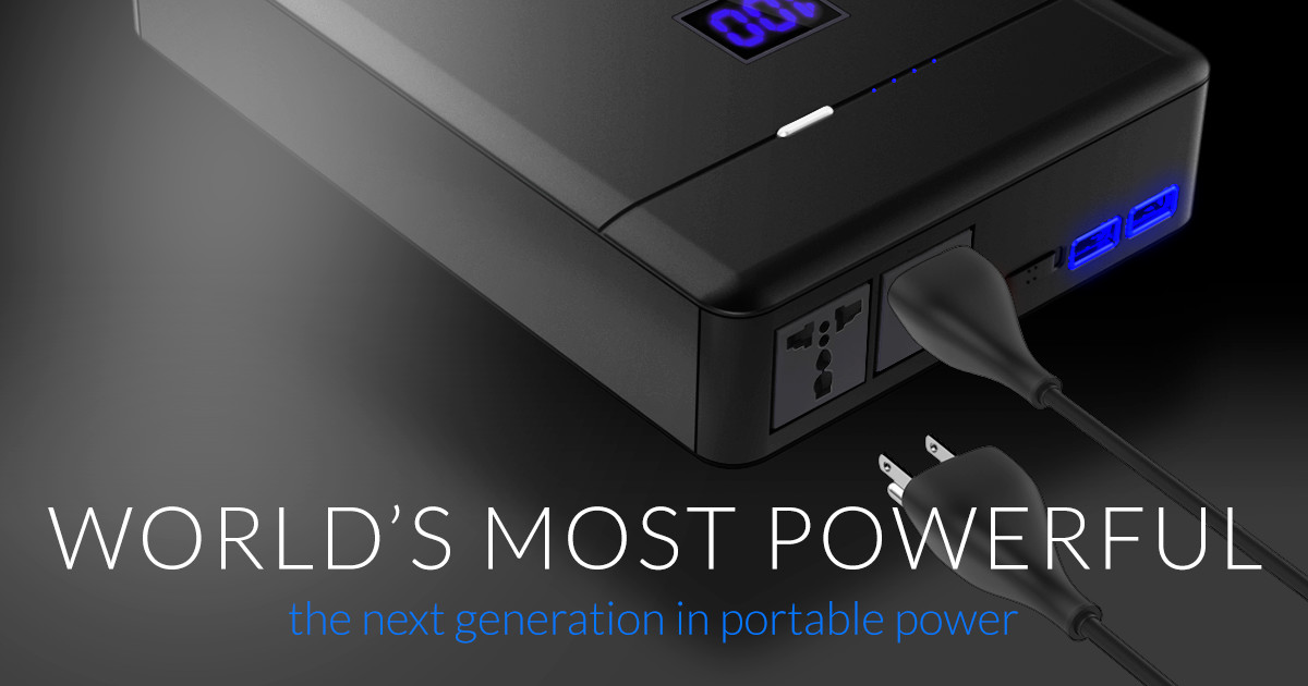 PLUG - The World's Most Powerful AC Power Supply | Indiegogo