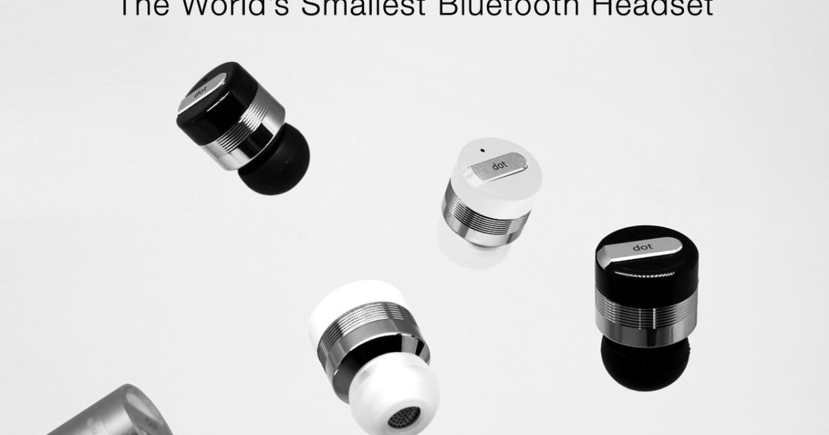 d6a3d31d817 Dot - World's Smallest Bluetooth Headset | Indiegogo