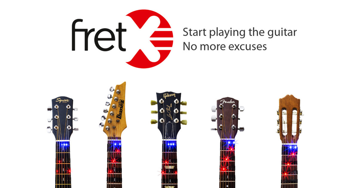 Fretx The Smart Device That Teaches You Guitar Indiegogo