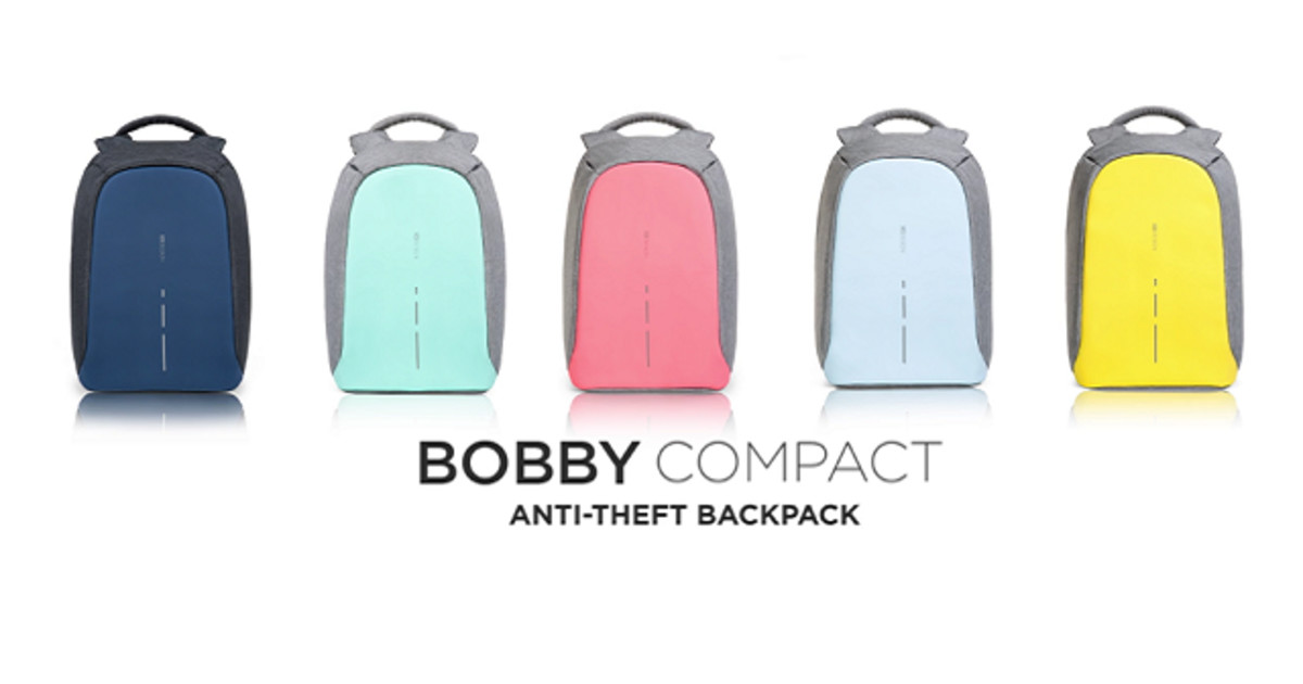 1f229d6908bd Bobby Compact, the Best Anti Theft backpack | Indiegogo