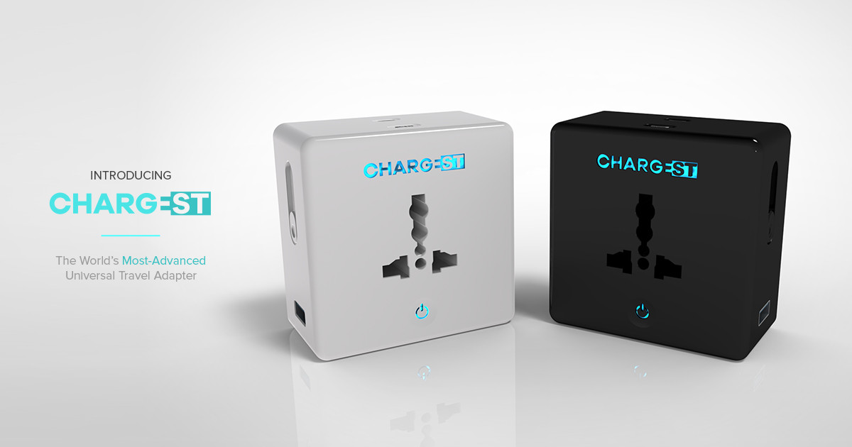 Image result for ChargEST: The World's Most Advanced Travel Adapter