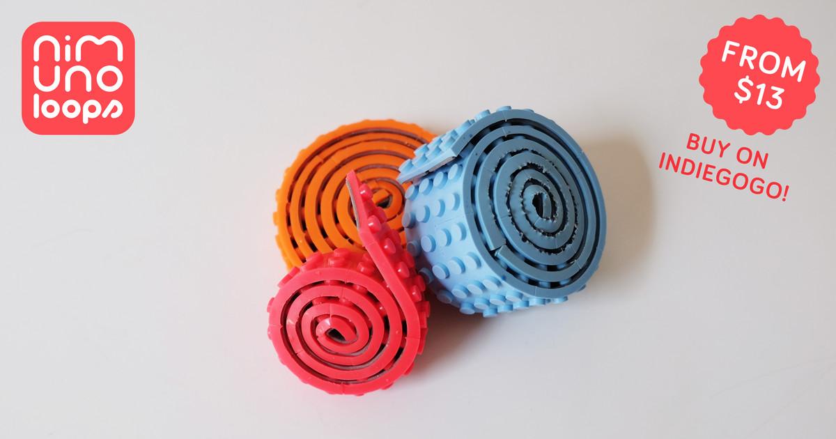 レゴブロックがテープになった「Nimuno Loops」は遊び方無限大だった! 6番目の画像