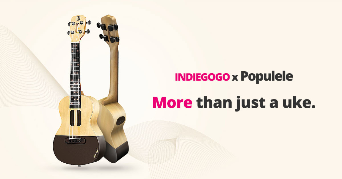 Populele The Smart Musical Gift For Everyone Indiegogo