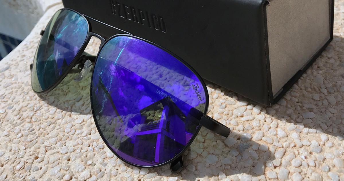 b95f0bc99c8b TITAN - Titanium aviator sunglasses | Indiegogo