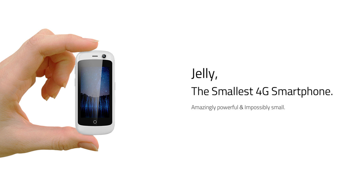 Jelly, The Smallest 4G Smartphone | Indiegogo