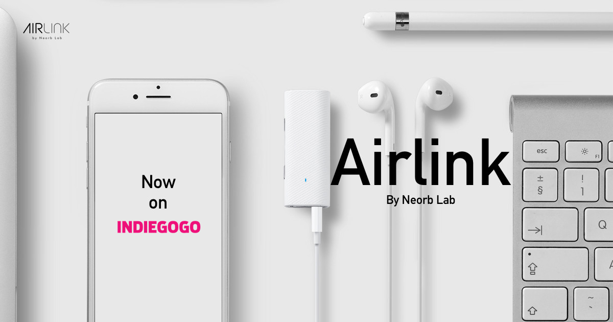 AirLink: Make Any Audio Device Wireless | Indiegogo