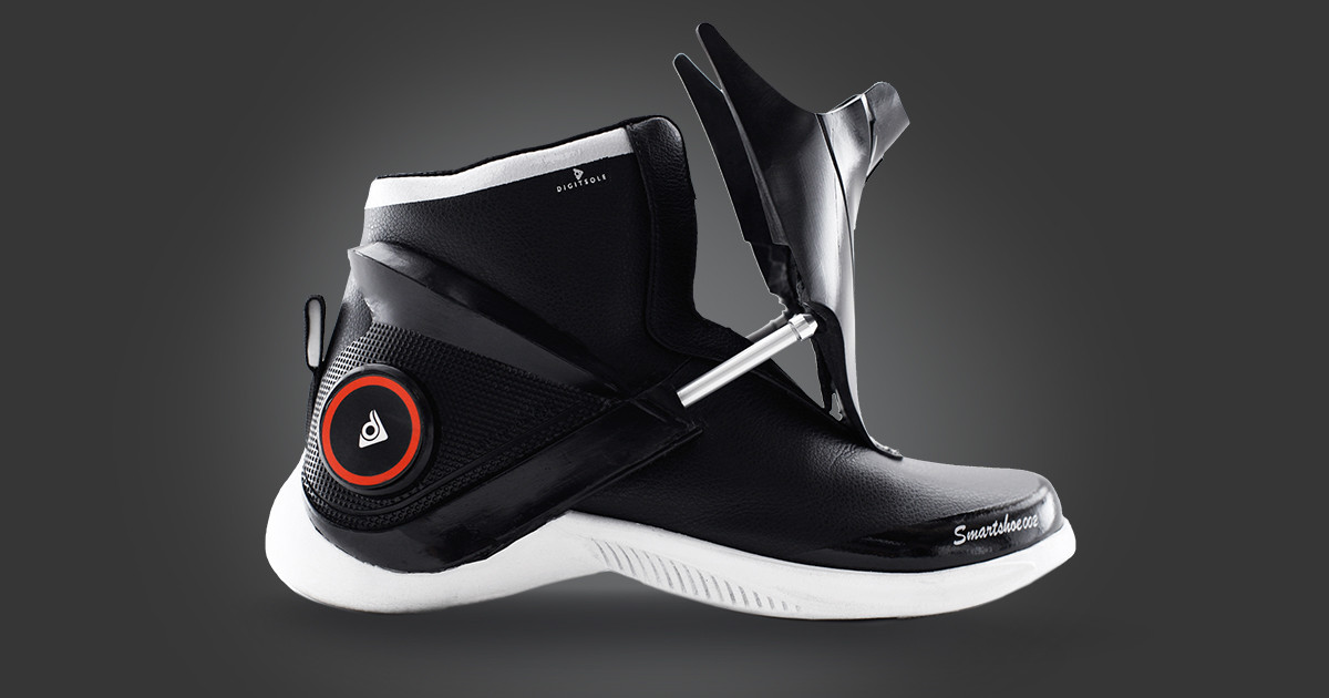 600b4301cafe4a Digitsole Smartshoe The First Intelligent Sneaker