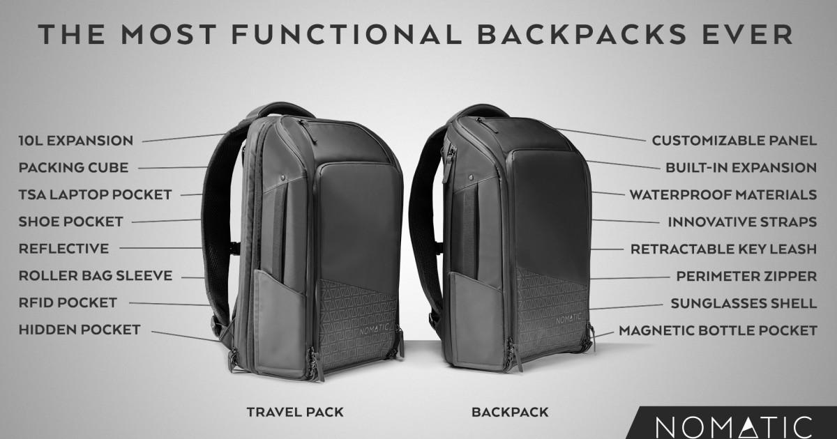 The Nomatic Backpack And Travel Pack Indiegogo