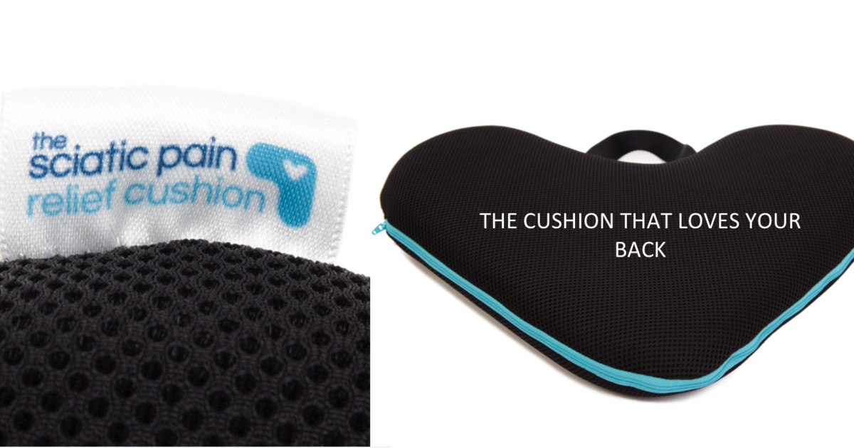 the sciatic pain relief cushion indiegogo