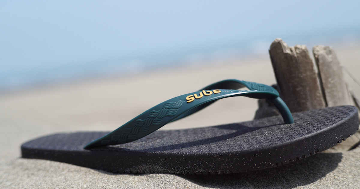 d225dffc0cc819 Subs - The World s Most Eco-friendly Flip-flops