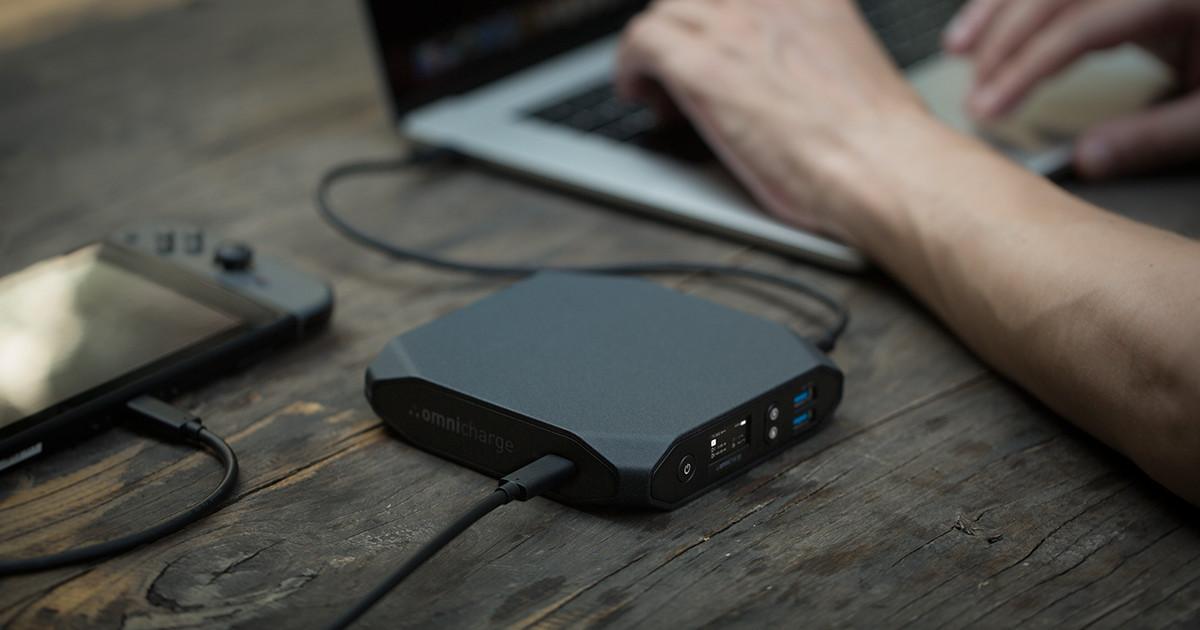 Omnicharge: Power Anything Anywhere | Indiegogo