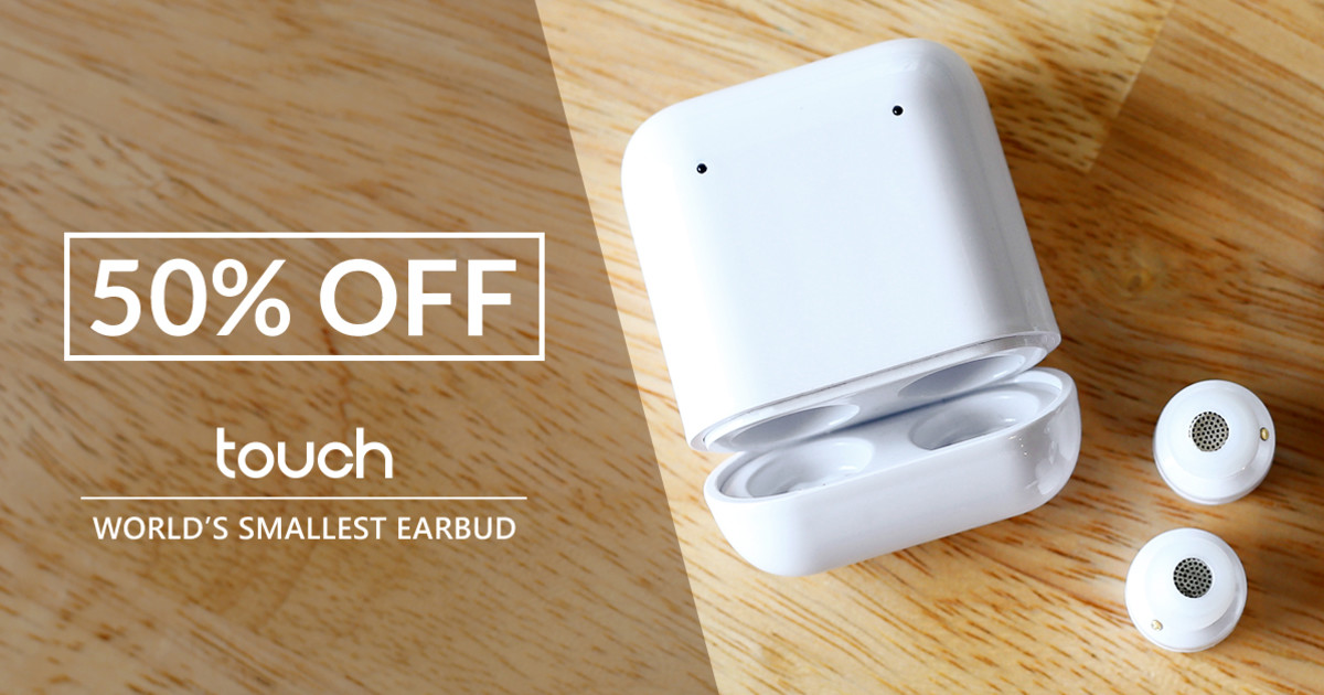 Touch - Ultra Small Wireless Bluetooth 5 0 Earbuds | Indiegogo