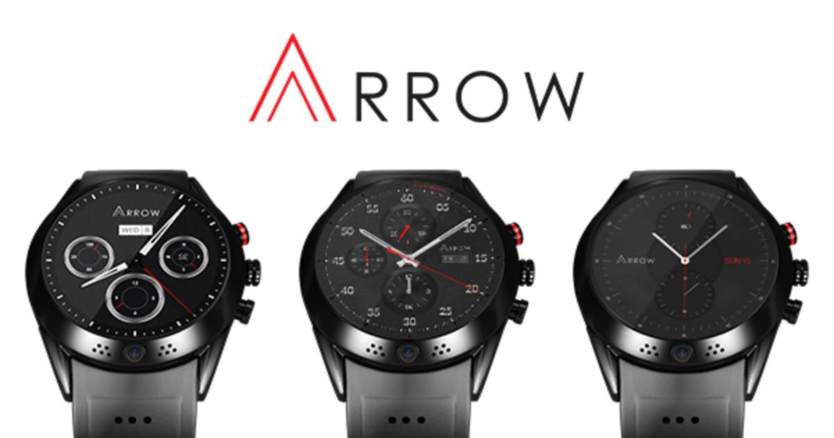 Arrow - Smartwatch with 360 Rotating HD Camera  | Indiegogo