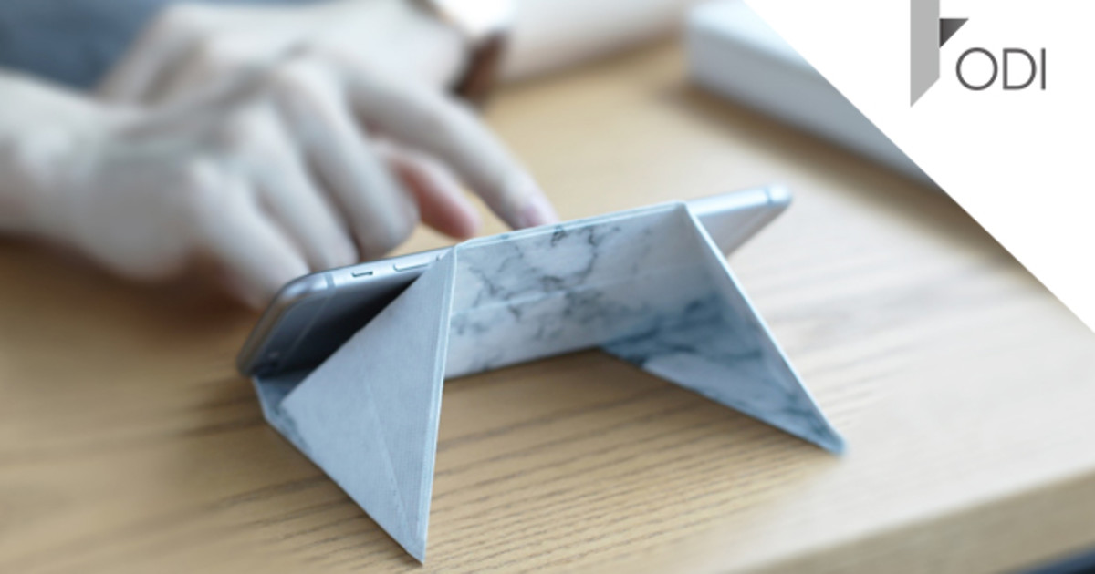 FODI - The flat multi-purpose origami stand | Indiegogo