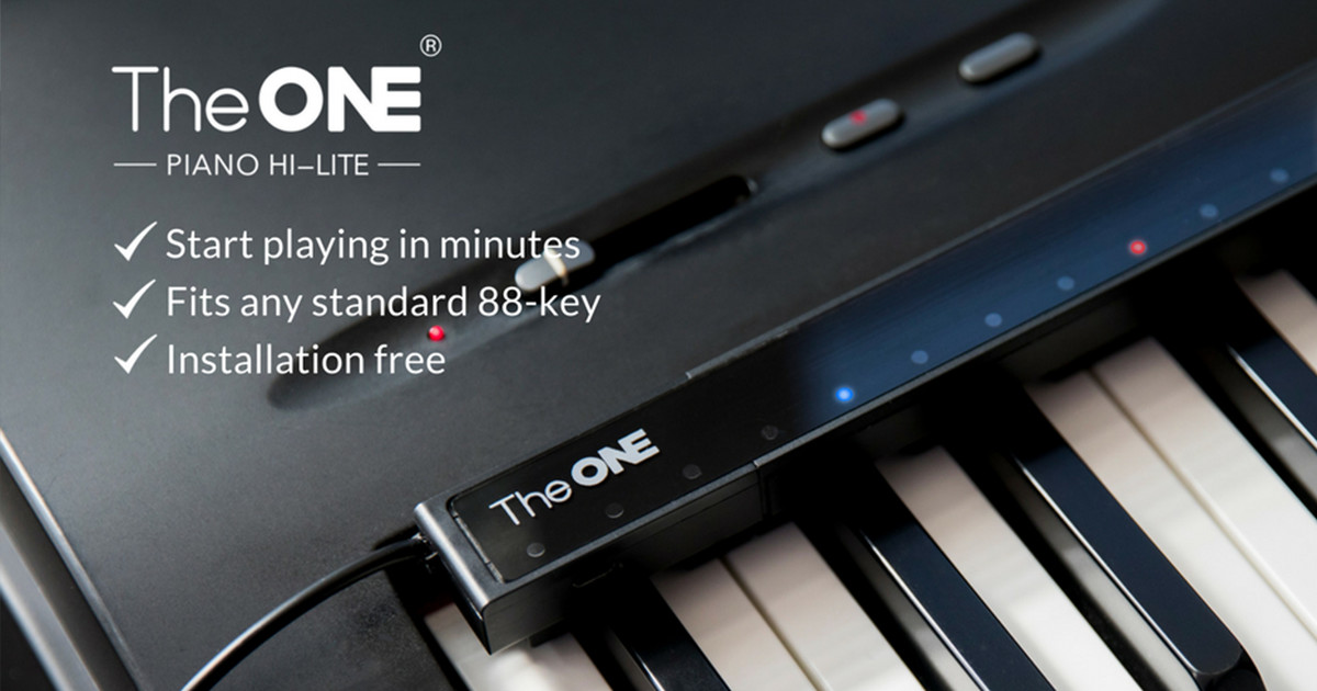 piano hi lite play piano in 3 minutes indiegogo