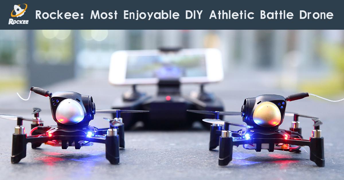 drone camera grande autonomie