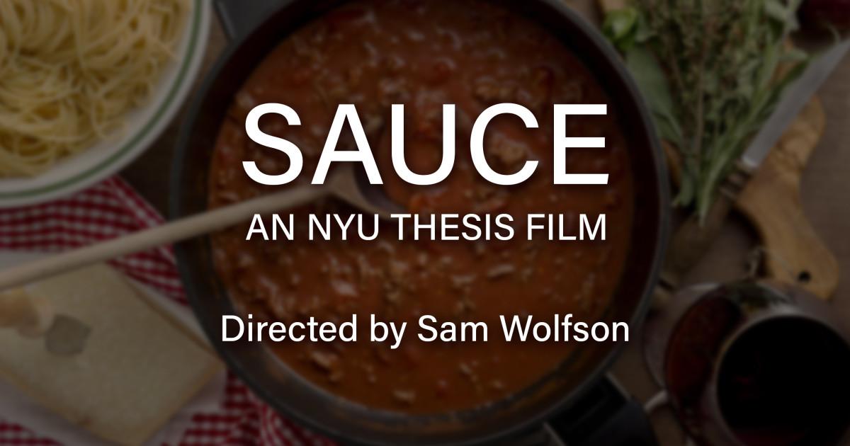 nyu thesis film