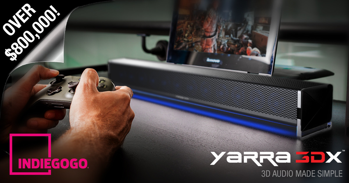 YARRA 3DX: Worlds Most Advanced 3D Audio System | Indiegogo