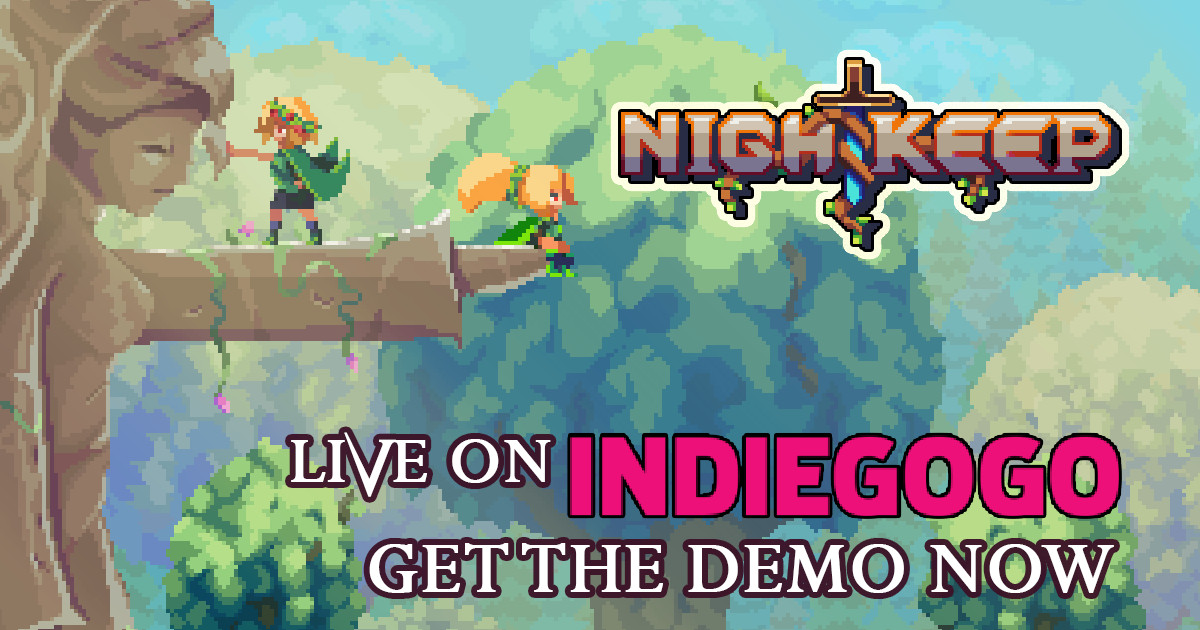 Nightkeep - metroidvania RPG | Indiegogo