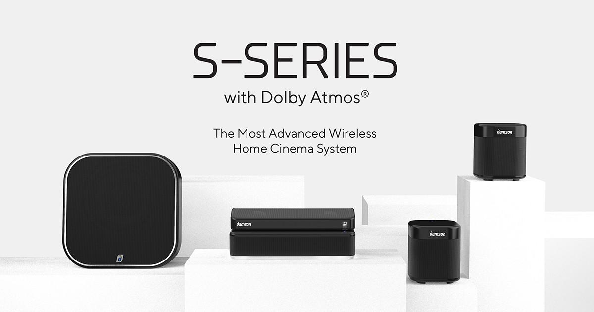 S-Series: Dolby Atmos Wireless Home Cinema System | Indiegogo