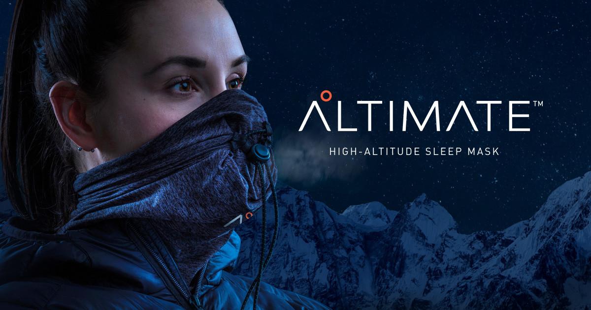 Altimate* High Altitude Sleep Mask | Indiegogo