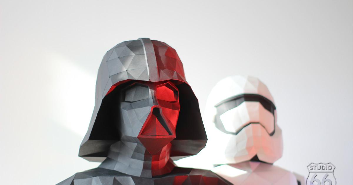 Star Wars Darth Vader and First Order Stormtrooper   Indiegogo