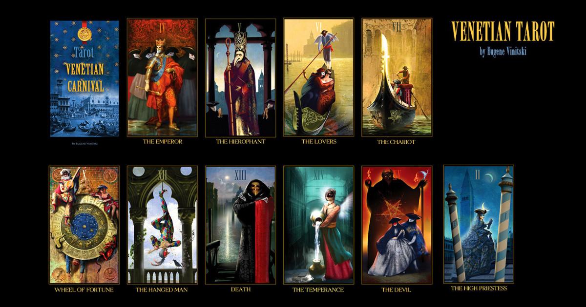 The Mini Venetian Tarot Cards Deck | Indiegogo