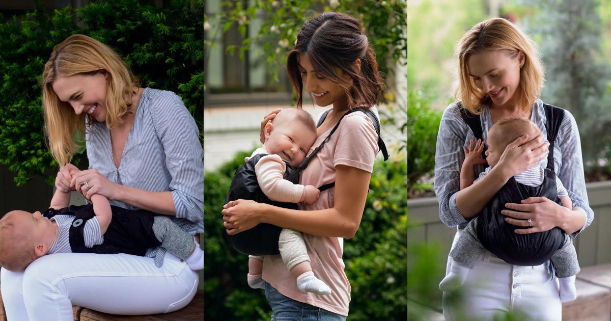 563b3d49 Lalabu Wearabu - A Safe Carrier Your Baby Wears | Indiegogo