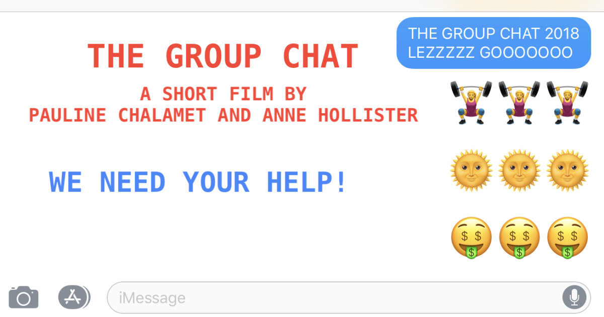 The Group Chat Indiegogo