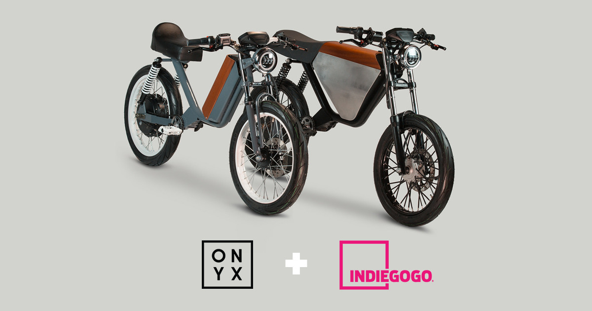 5dd274ac9d4 ONYX Motorbikes - Mopeds are Back. Now Electric! | Indiegogo
