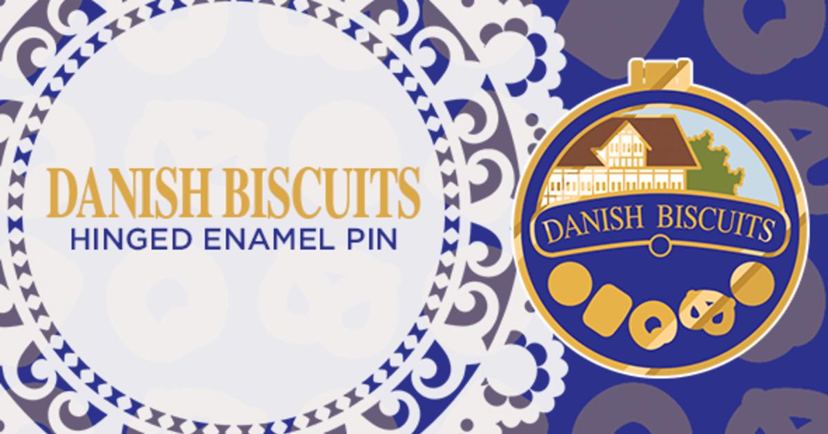 Danish Biscuits Hinged Pin | Indiegogo