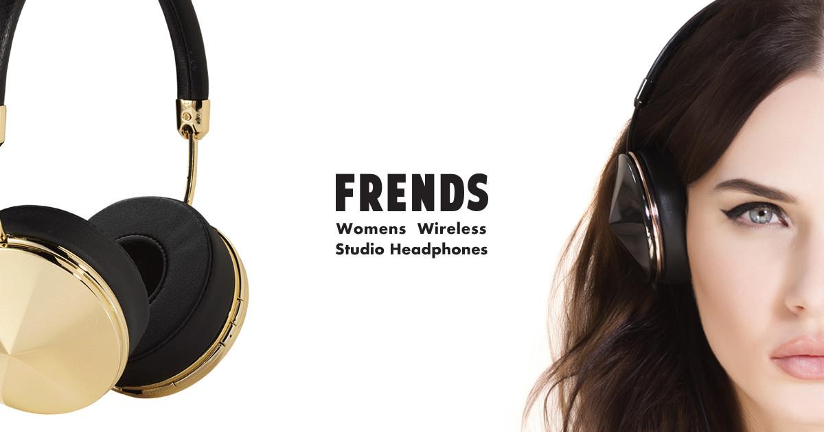 3932dbb4a FRENDS Studio Wireless Bespoke Women's Headphones | Indiegogo