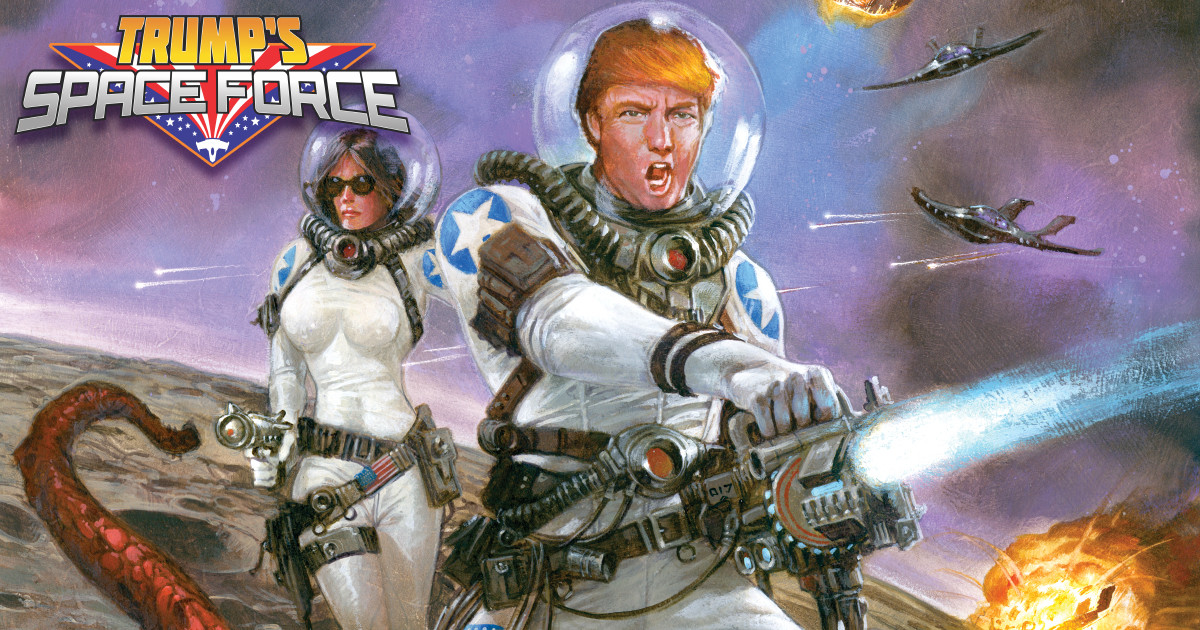 Trump S Space Force on Star Wars Space