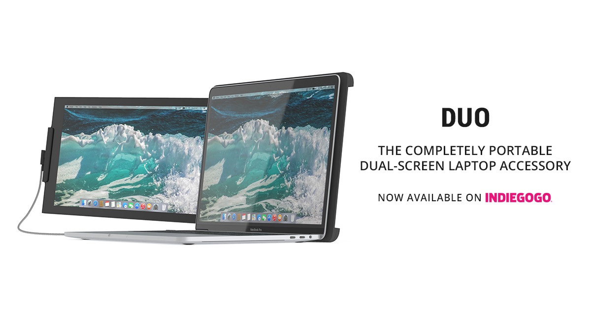 DUEX: The on-the-go dual screen laptop monitor | Indiegogo