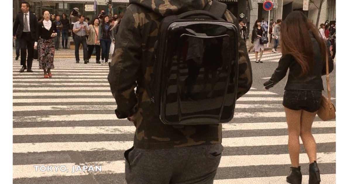 Straight Outta Tokyo Meet The Hybrid Backpack Indiegogo