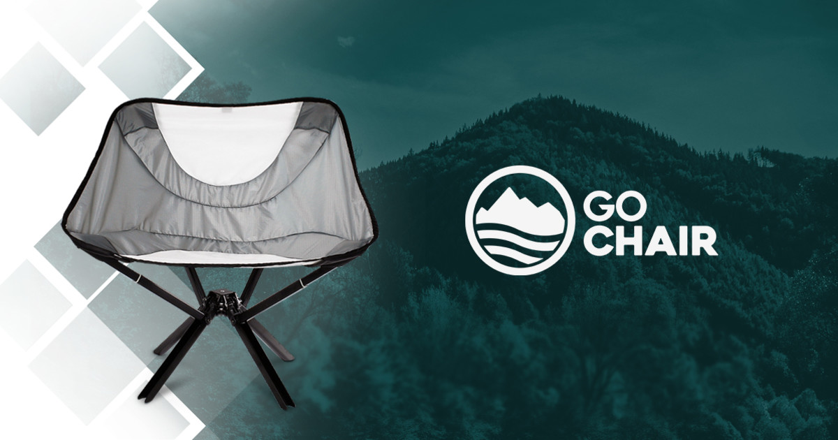 Incredible Cliq Chair The Bottle Sized Portable Chair Indiegogo Lamtechconsult Wood Chair Design Ideas Lamtechconsultcom