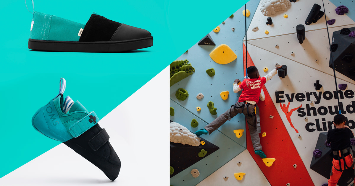 6c8d2c3fe83 TOMS and So iLL - Shoes To Get Kids Climbing